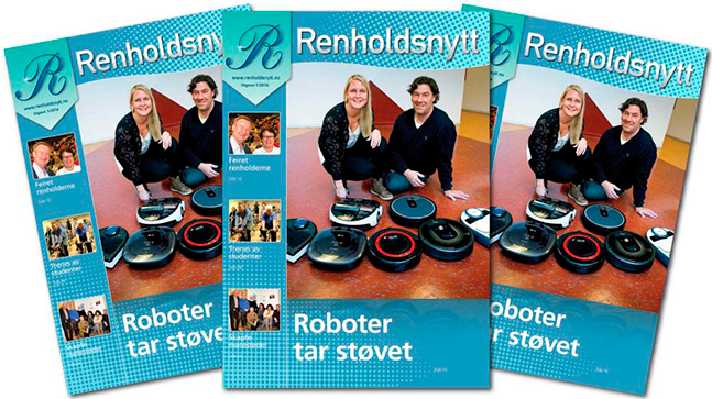 Robottest i Renholdsnytt