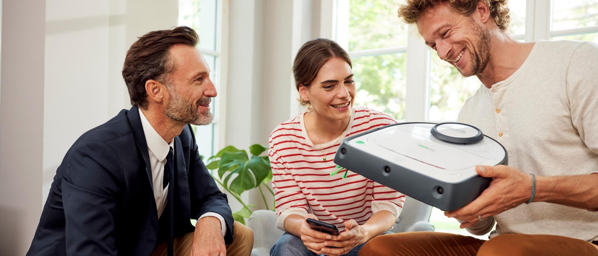 Kobold VR300 Robotstøvsuger - Hva får du?